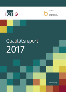 Cover IQTIG-Qualitätsreport 2017