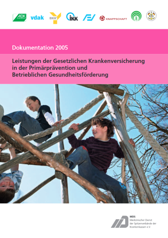 Cover MDS-Präventionsbericht 2005